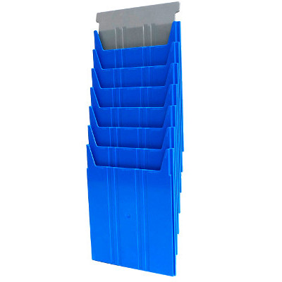Wall-mount document holders