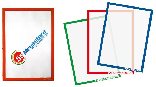 Magnet-Sichttasche A4 (Magnetrahmen)