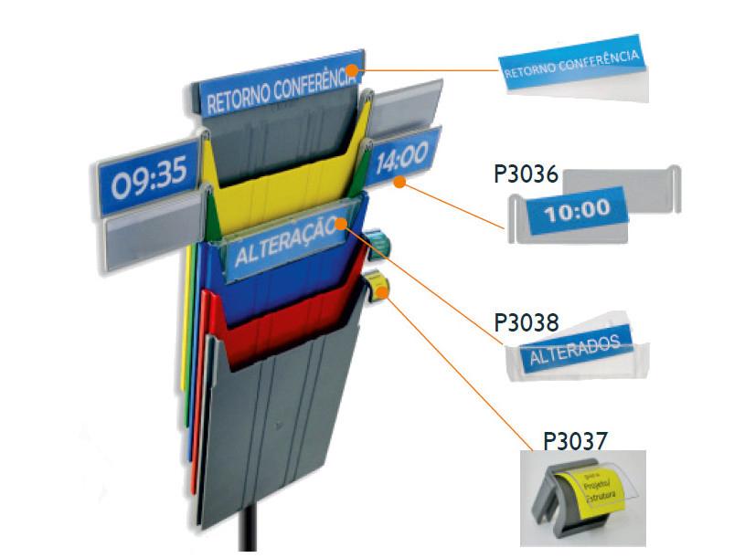 Etiketten für Dokumentenspender