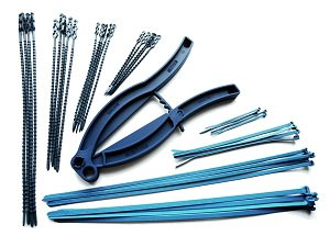 Detectable cable ties & grippers