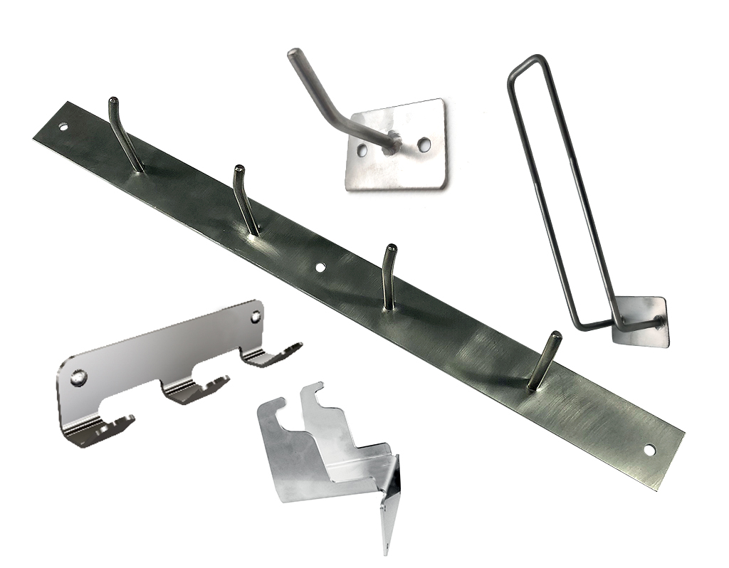 Stainless steel wallhook and hangers