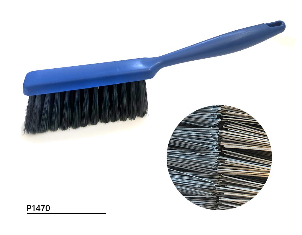 Cepillo barandilla con cerdas detectables