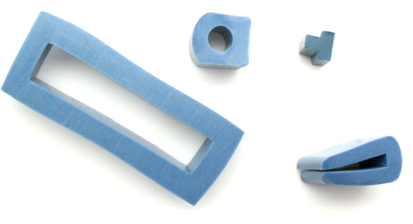 Detectable custom made seals and gaskets