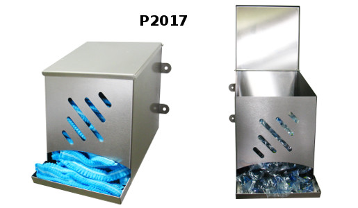 Universal stainless steel dispenser