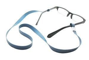 Sujeta gafas de silicona detectable