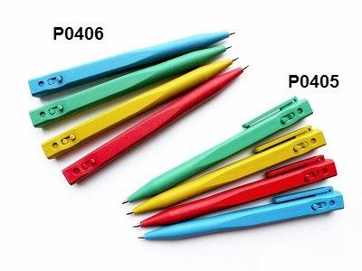 Bolígrafo detectable con repuesto escamotable STANDART