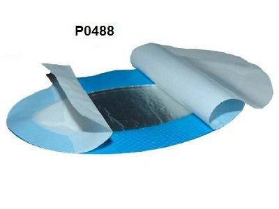 Cerotto rilevabile blu Hydrogel per scottature