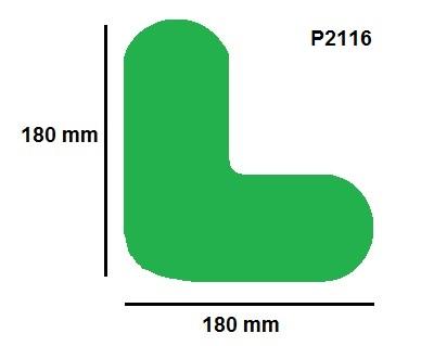 Podlahové značky - velké (8cm)