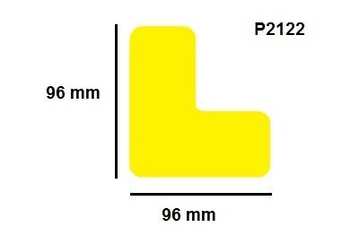 Podlahové značky - malé (48mm)