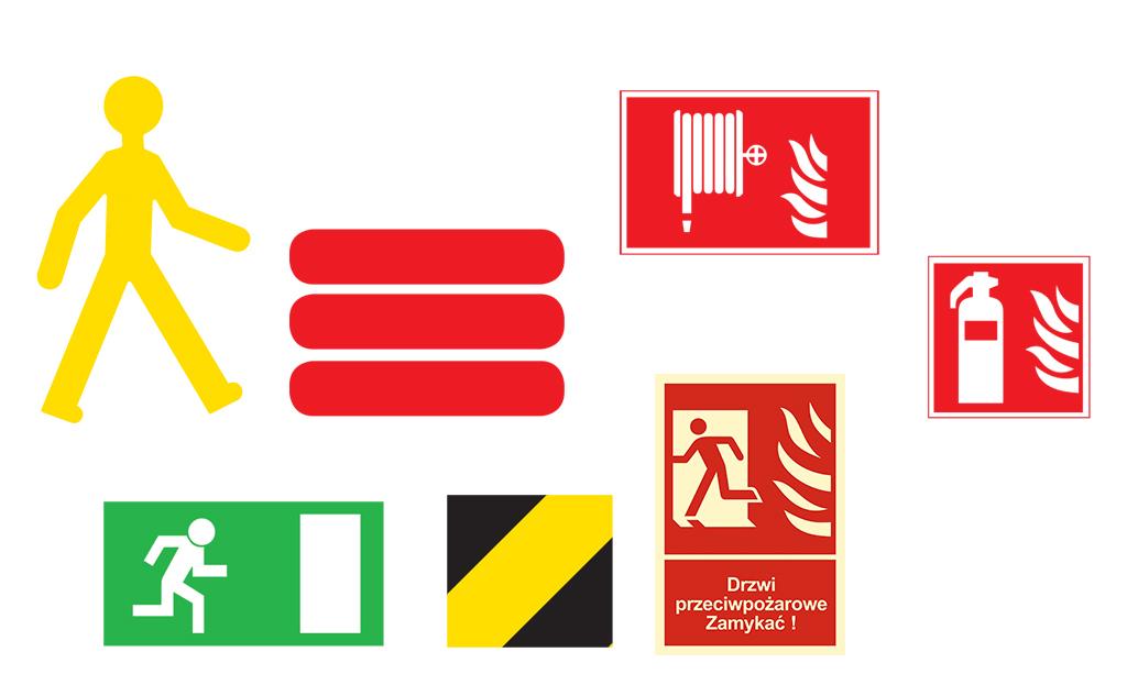 Značení podlah - značky