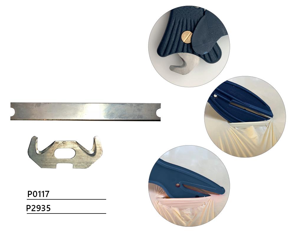 Noże bezpieczne wykrywalne