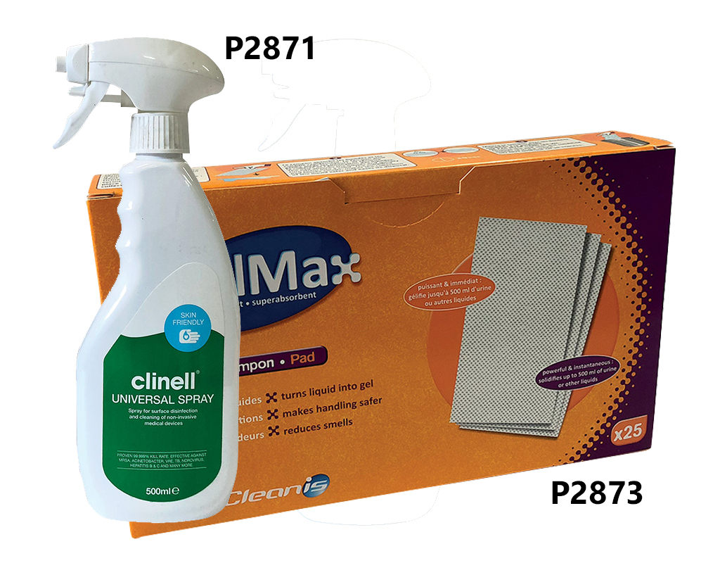 Body fluid disposal kit