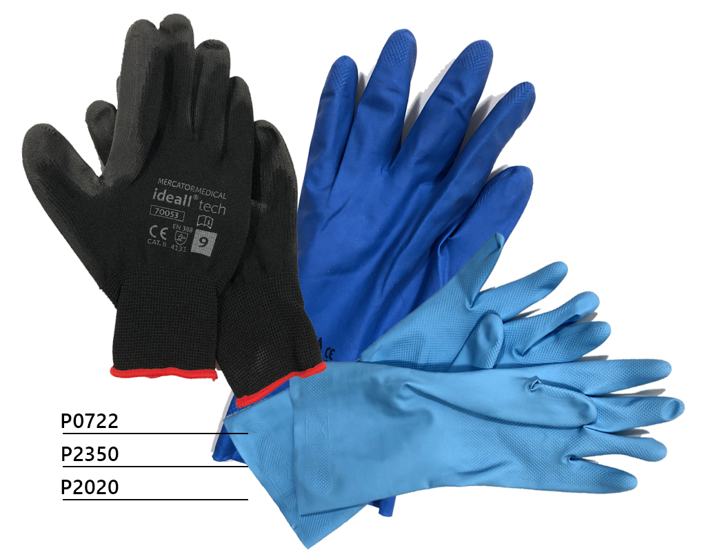 Schutzhandschuhe mit Polyurethanbeschichtung