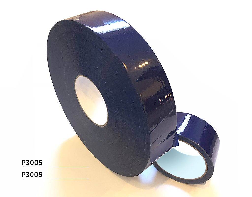 NEW! Blue packing tape for cold conditions