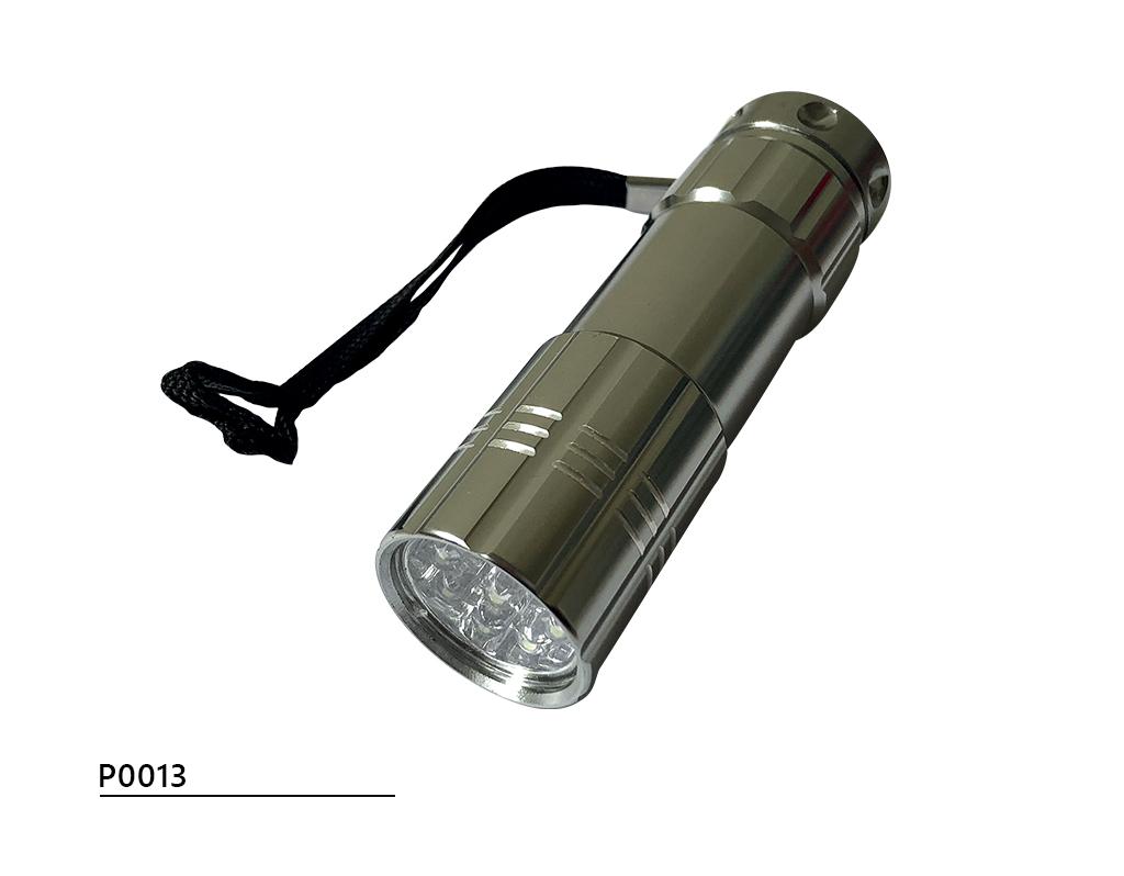 Wykrywalna latarka LED