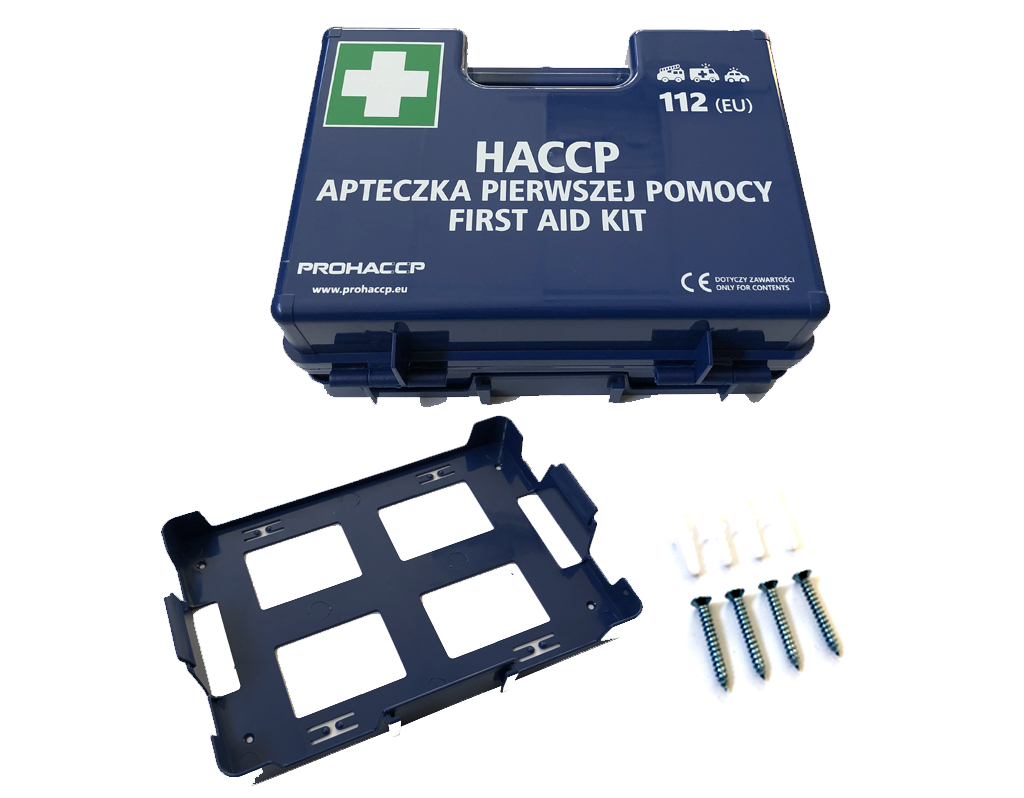 Walizka do apteczki HACCP