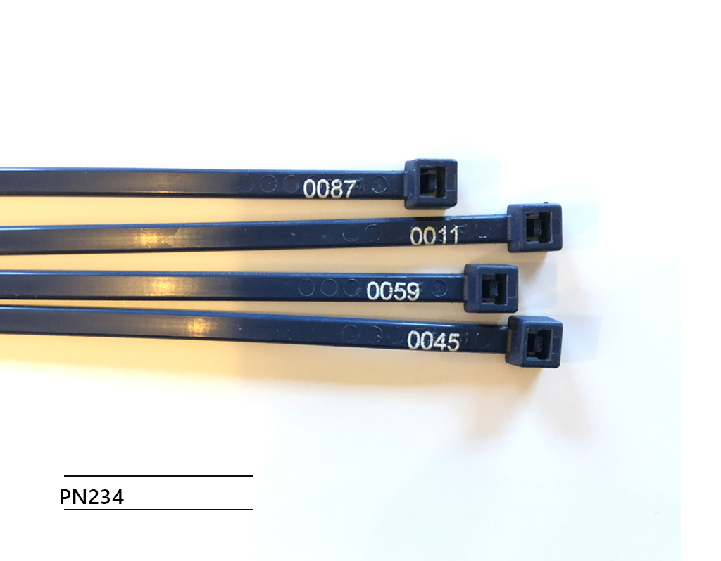 NEW! Detectable cable ties  -Sequentially numbered