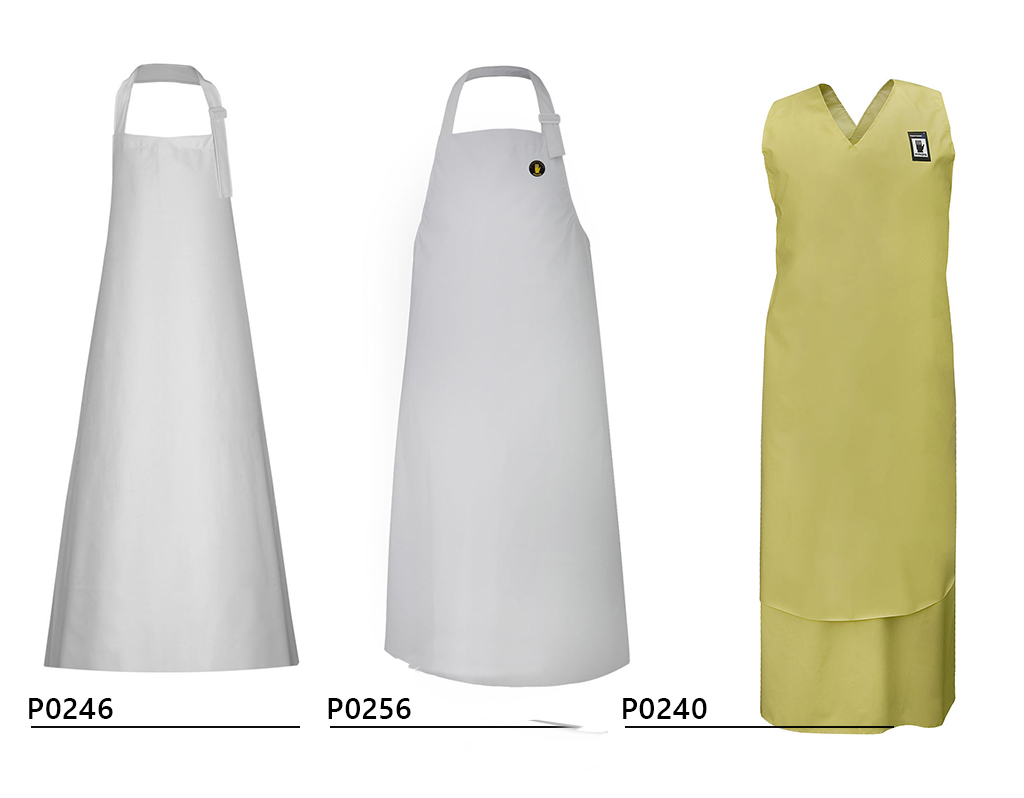 NEW! Waterproof aprons