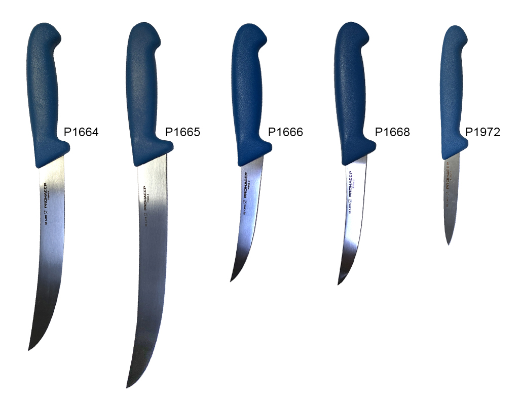 NEW! Professional knives with detectable handle