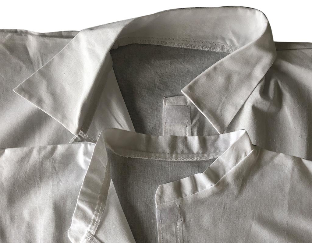 Reusable lab coats