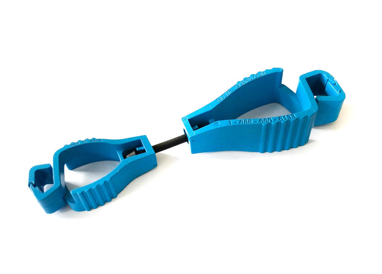 Detekovatelný držák rukavic