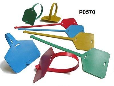 Detekovatelné plastové štítky (25cm)