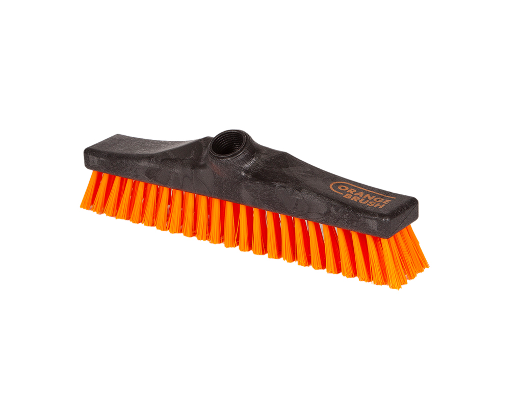 Recycled hand scrub brush