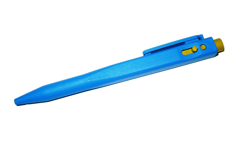 Grūtos apstākļos atrasta pildspalva HEAVY
