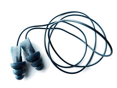 Ar metāla detektoru uztverami vienreizējas lietošanas ausu aizbāžņi